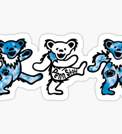 Penn State Dancing Bears Sticker