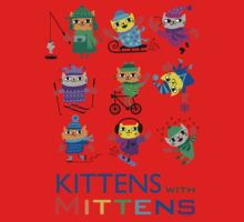 Kittens with Mittens Kids Clothes