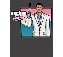 Archer Vice City Photographic Print