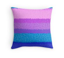 Vertical Hot Ice Throw Pillow