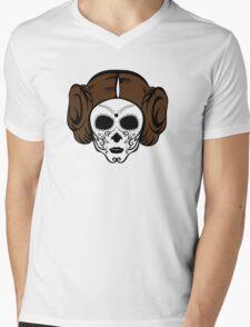 Dia de Princess Mens V-Neck T-Shirt