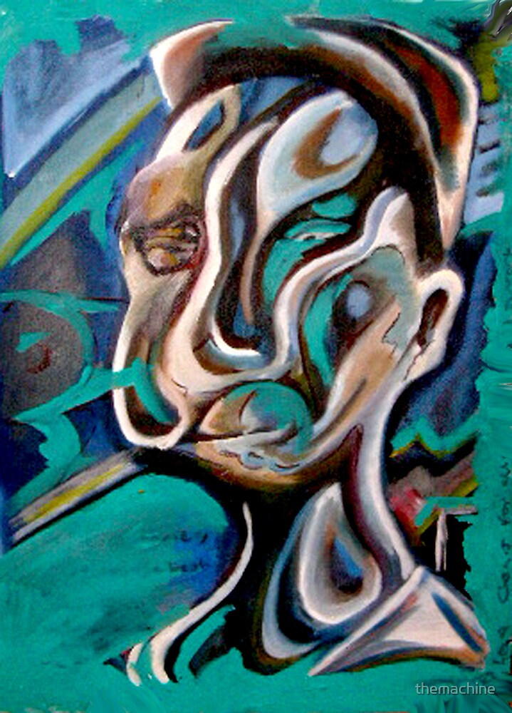 Self Portrait #5 by themachine
