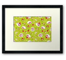 Cute Hedgehog Baby Print Framed Print
