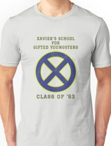 Xavier's School for Gifted Youngsters Unisex T-Shirt