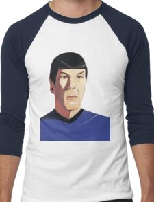 Mr Spock tshirt Men's Baseball ¾ T-Shirt