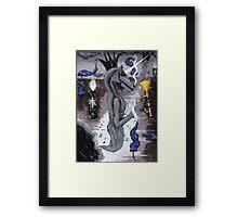 an exorcism # 3 Framed Print