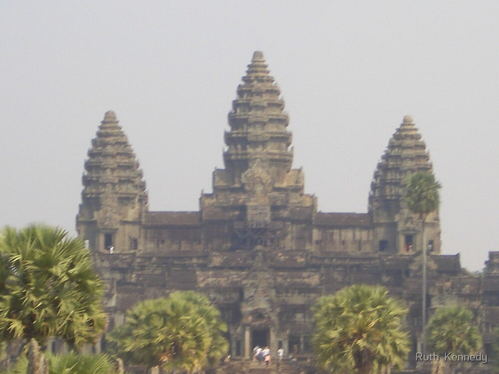 Angkor Wat by Ruth  Kennedy
