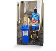 Street Cleaner  Greeting Card