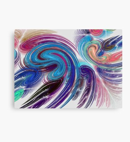 Abstract In Fractal Canvas Print