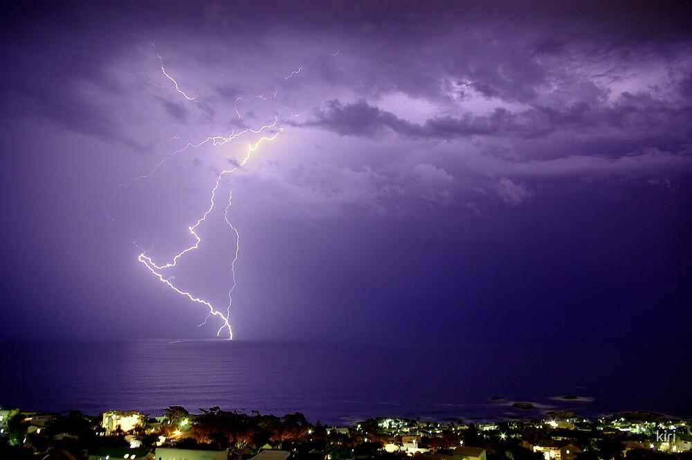 lightning strike by kiri