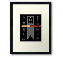 Depeche Mode : Black Celebration LP 4 Framed Print