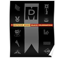 Depeche Mode : Black Celebration LP 4 Poster