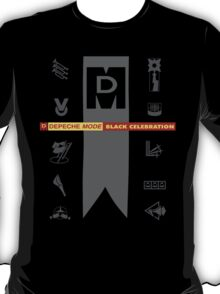 Depeche Mode : Black Celebration LP 4 T-Shirt