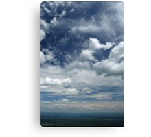 Valley Sky Canvas Print