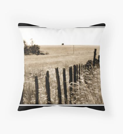 The house on the hill Throw Pillow