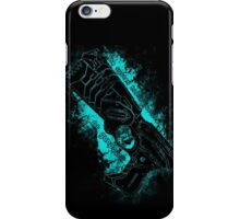 The system holds justice at gunpoint iPhone Case/Skin