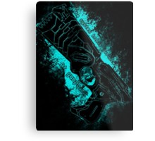 The system holds justice at gunpoint Metal Print