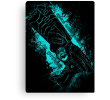 The system holds justice at gunpoint Canvas Print