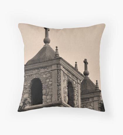 St. Peters, sepia Throw Pillow