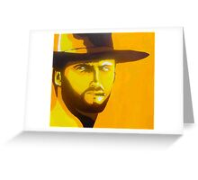 Man with no name Greeting Card