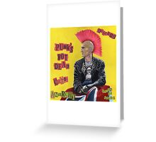 Punk & Disorderley Greeting Card