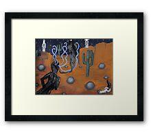 an exorcism #4 Framed Print
