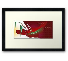 Organic Abstract Framed Print