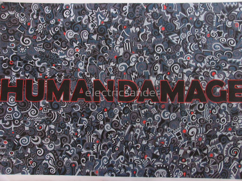 humandamage by electricsander