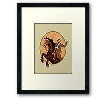 McCloud - Yee Haw! Framed Print