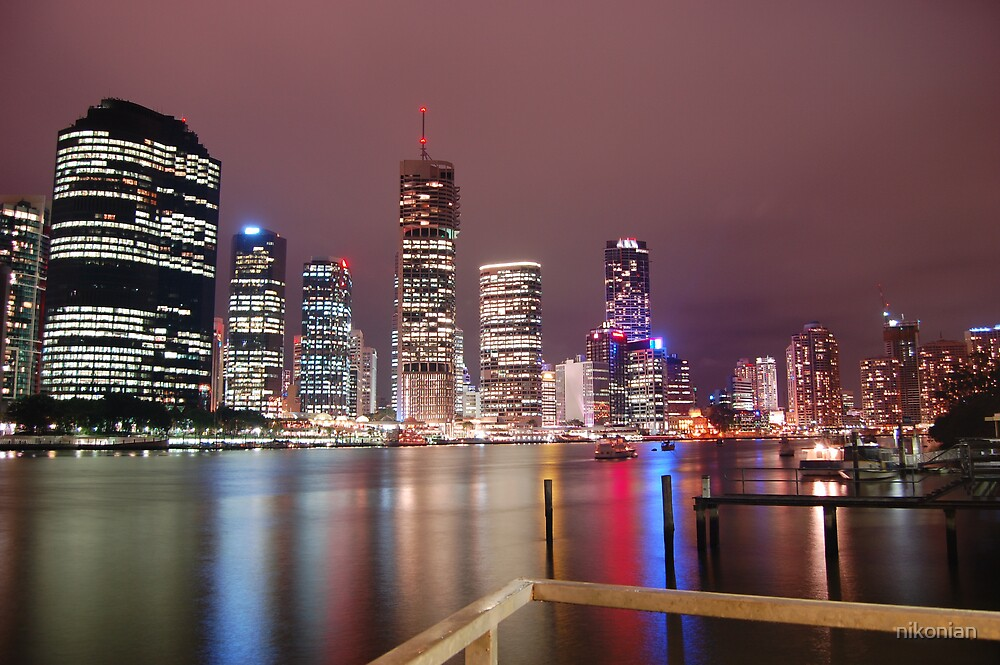 brisbane night2 by nikonian