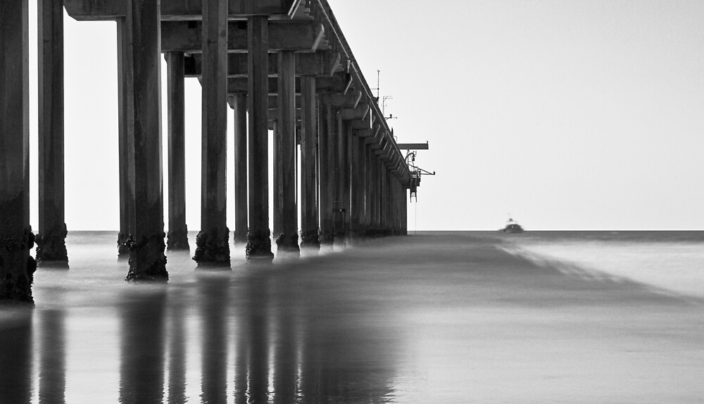 Scripps Pier by Michael Mancini