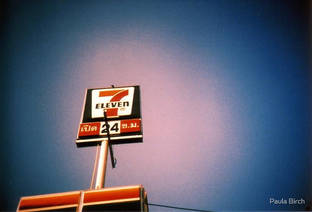 Seven Eleven Twenty Four by Paula Birch