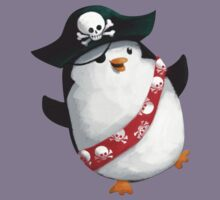 Cute Pirate Penguin Kids Clothes