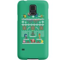 A Super Smash 8-Bit Christmas Samsung Galaxy Case/Skin