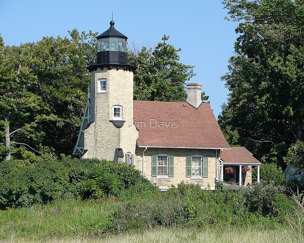 """The Lighthouse"" by Jim Davis"