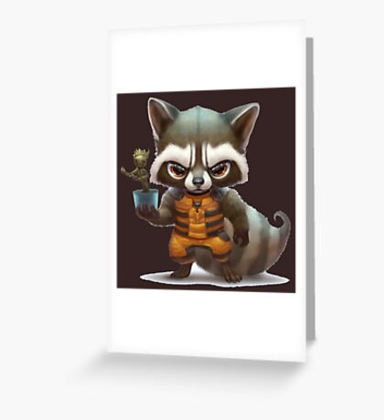 guardians of galaxy Greeting Card