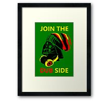 Dub Vader (red-yellow) Framed Print
