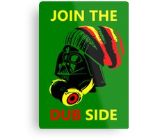 Dub Vader (red-yellow) Metal Print