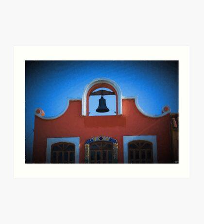 Spanish Style Building Art Print