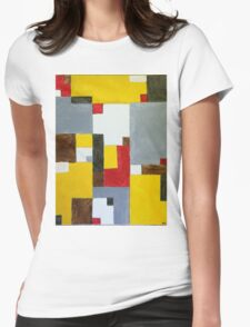 Aggregated Influence Womens Fitted T-Shirt