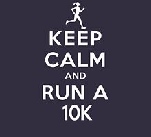 Keep Calm and Run a 10k Female (DS) Women's Tank Top