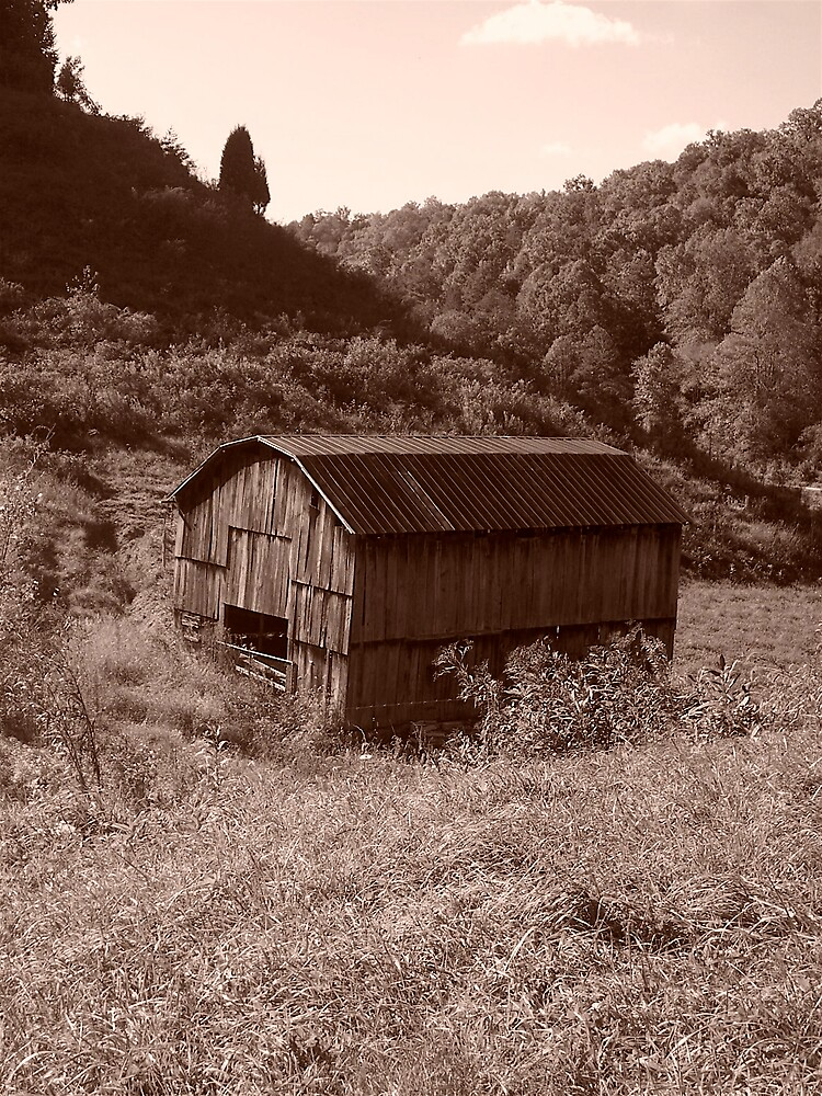Old Time Barn by Jason Helton