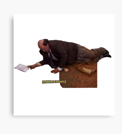 Kevin and his Chili - The Office Canvas Print