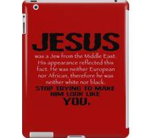Jesus Was a Jew - Black/White iPad Case/Skin