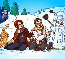 Holiday Greetings from Casa Quixote, 2013 Edition by geekdame