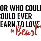 Learn To Love A Beast by Ann Frazier