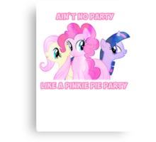 Pinkie Pie's Party Canvas Print
