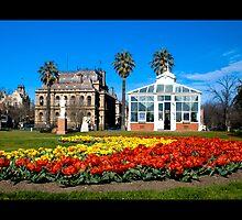 Bendigo Conservatory Gardens by Marcus Mawby