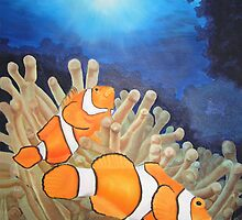 Clown Fish by vonnyk