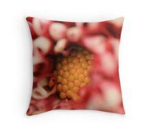 Pollen Central Throw Pillow
